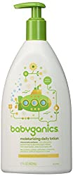 Babyganics Extra Gentle Moisturizing Daily Lotion, Chamomile Verbena, 17 Fluid Ounce (502 ml)