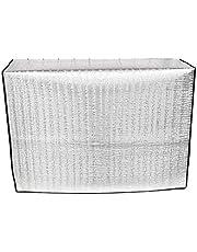 Faviye - Cubierta exterior de aire acondicionado hecha de película de aluminio antipolvo antiniebla impermeable funda climatizador exterior, 78 * 54 * 28cm