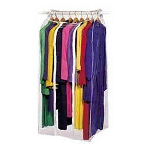 "Frameless Dress Bag Organize Storage Clean Neat - Pack Of 2 - 24 x 22 x 56"""