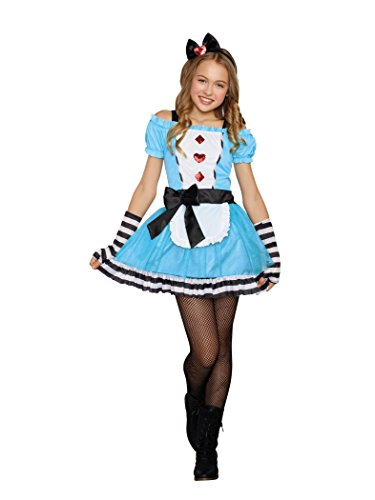 SugarSugar Tween Miss Wonderland Costume, One Color, Large]()