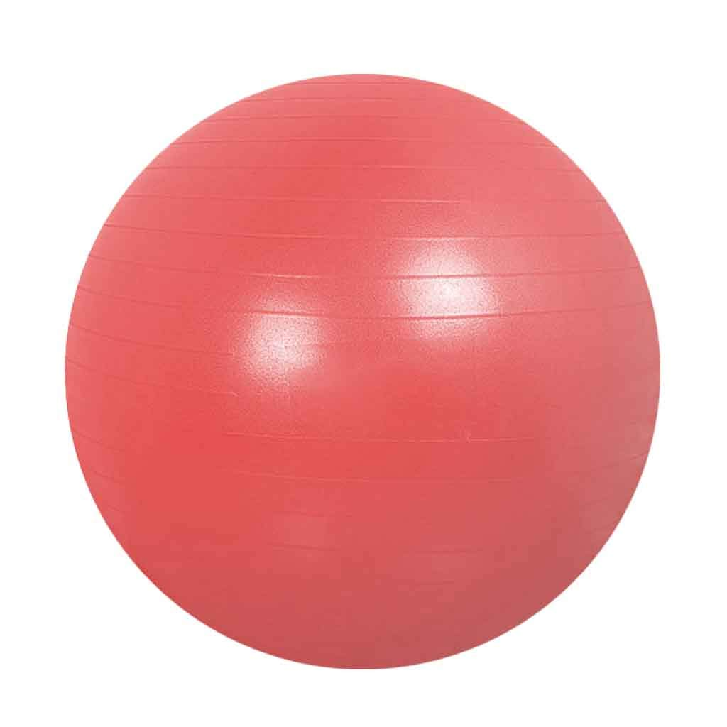 Exercise Ball Yoga Ball Pregnancy Exercise Ball Anti-Slip Anti-Burst Office Home Ideal Yoga Pilates Birthing Therapy Available in Three Sizes 55/65/75cm Multiple Colour