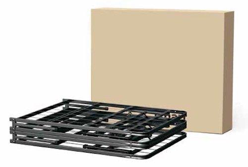 Furniture World Rest Easy Metal Platform Bed, Queen