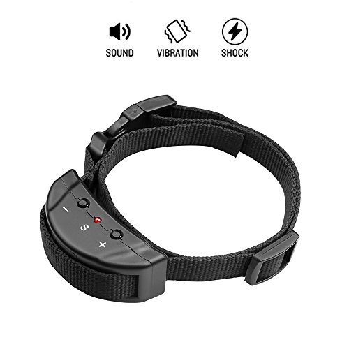 Petiner Bark Collars Shock Collar for Small, Large, Medium Dog Pet E Collar Anti-Bark Training Collar No Pain 7...