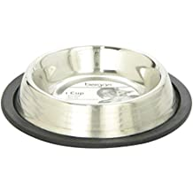 Bergan Stainless Steel Bowl w Ridges, Heavy Duty Non-Skid, 1 Cup