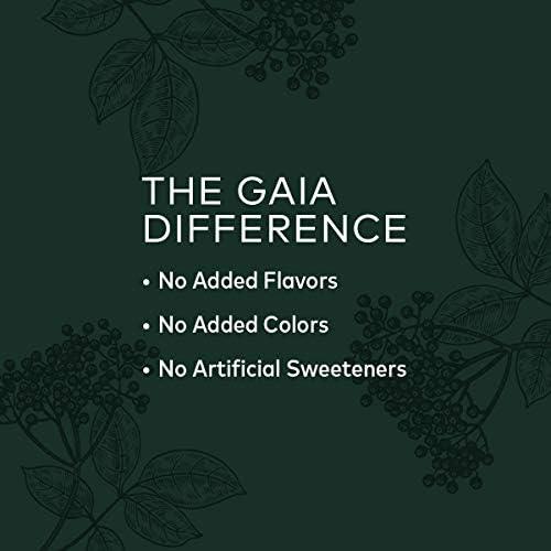 Gaia Herbs Black Elderberry Syrup - Daily Immune Support with Antioxidants, Organic Sambucus Elderberry Supplement, 5.4 Fl Oz (Pack of 1) 5