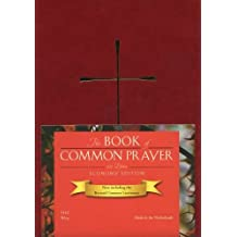1979 Book of Common Prayer Economy Edition, imitation leather wine color