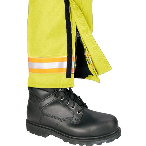 Inseam 34 Hi-Vis Yellow with 2 Red//Orange-Silver-Red//Orange Triple Trim TOPPS SAFETY EP01R4708-52-34 EP01R4708 TECSAFE EMS Pants 52