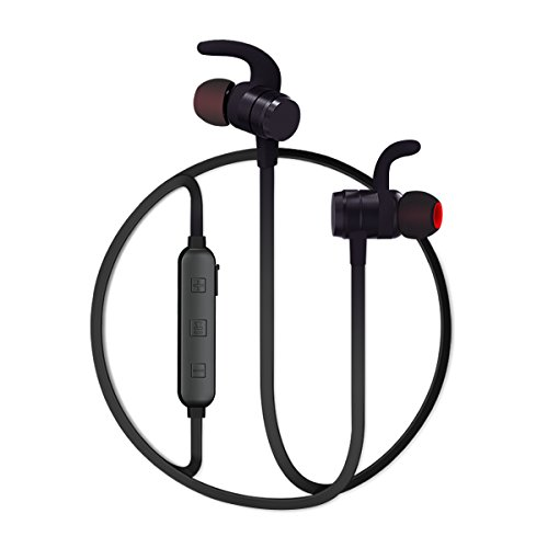 Wireless Anti-noise Technology Stereo Bluetooth Headset (Black) - 5