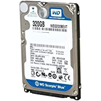 HD 320GB SATA 3GB 5400RPM WD3200BEVT All In One, Notebook, Computador