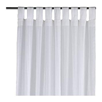 Ikea Gardine ikea 2 er set gardinen matilda transparente aber blickdichte