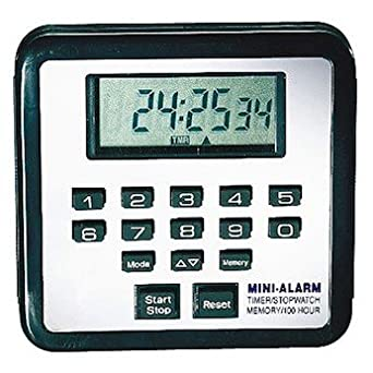 Cole-Parmer Count up/down timer, NIST-traceable calibration report