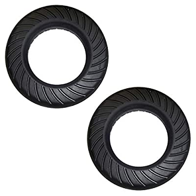 "Two Go-Ped Go-Active 6"" Hard Rubber Tires for Mach 12 or 3-Spoke Type Wheel : Sports & Outdoors"