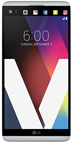 LG Electronics V20 - Factory Unlocked GSM Phone - Silver (Renewed)