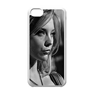 iPhone 5c Cell Phone Case White hc43 natalie dormer film dark english actress celebrity LSO7782214