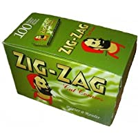 Zig Zag Rolling Papers, Box of 100, Green