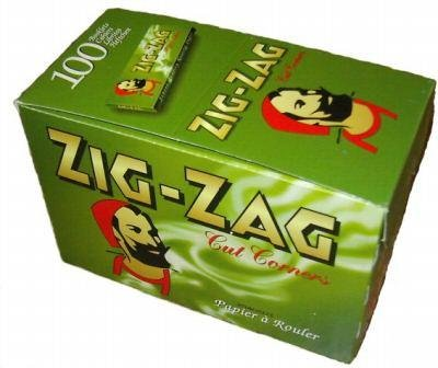 Zig Green Cigarette Papers 100pks product image