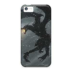 [HOr9012Vais] - New Skyrim Protective Iphone 5c Classic Hardshell Cases