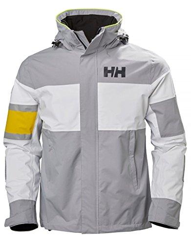 Helly Hansen Men's Salt Light Jacket, Silver Grey, XX-Large by Helly Hansen