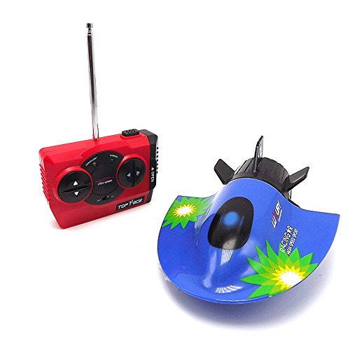eMart High Speed 4CH RC Boat Model Radio Remote Control Ship Submarine Electric Toy Kids Gift – Blue