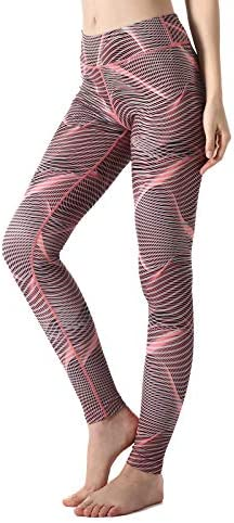 ZOANO High Waisted Printed Yoga Pants for Women Workout Leggings Running Pants 3