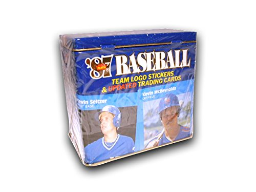 1987 Fleer Baseball Update Glossy Tin Box Set FACTORY SEALED Updated Traded