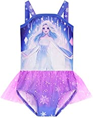 ZhouL Toddler Bathing Suits Girls Princess Swimsuits One Piece Swimwear Tankini