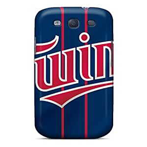 Great Cell-phone Hard Covers For Samsung Galaxy S3 With Provide Private Custom Realistic Minnesota Twins Pictures AshtonWells