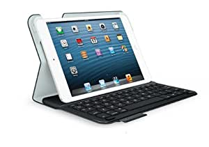 Logitech Ultrathin Keyboard Folio f/ iPad mini - fundas para tablets (Folio, Marina, Apple, 14,9 cm, 1,93 cm, 21,5 cm)