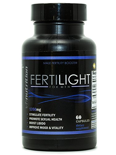 ght for Men | Male Fertility Supplement | Natural Blend of Vitamins and Supplements in Pills - 30 Day Supply - 60 Capsules ()