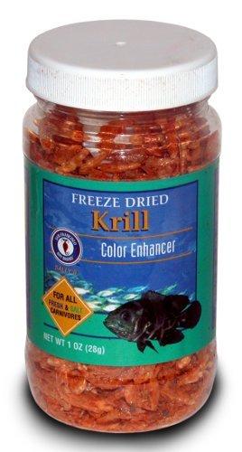 San Francisco Bay Brand Freeze Dried Krill 1oz (28g) Jar