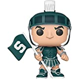 Sparty [Michigan State]: Funko Pop College Vinyl Figure & 1 Compatible Graphic Protector Bundle (004 - 42858 - B)