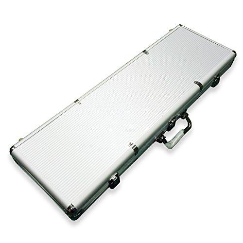 (IDS Home 600 Ct Aluminum Poker Chip Case Holder )