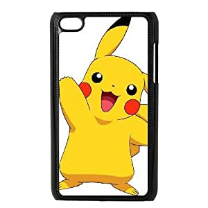 ipod 4 Black Pikachu phone cases&Holiday Gift