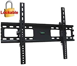 Impact Mounts Lcd Led Plasma Flat Tilt Tv Wall Mount Bracket 30 32 37 42 46 47 50 52 55 60 65 70 80. Solid Piece Wall Plate and Verticals. Lockable With A Padlock For Extra Security