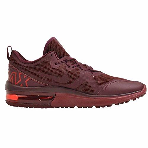 sports shoes 14adf a5ce8 ... Nike Air Max Fury Chaussures De Course Foncé Équipe Rouge   Nuit-marron  ...