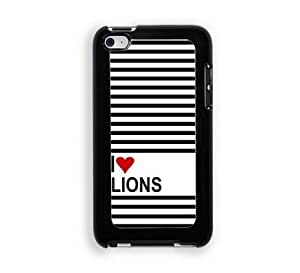 Love Heart Lions iPod Touch 4 Case - Fits ipod 4/4G