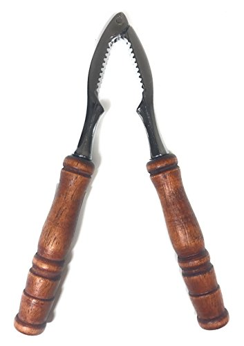 Traditional Wooden Nut and Seafood Cracker Nutcracker / Opener Tool l Good for Lobster, Crabs, Walnuts ()