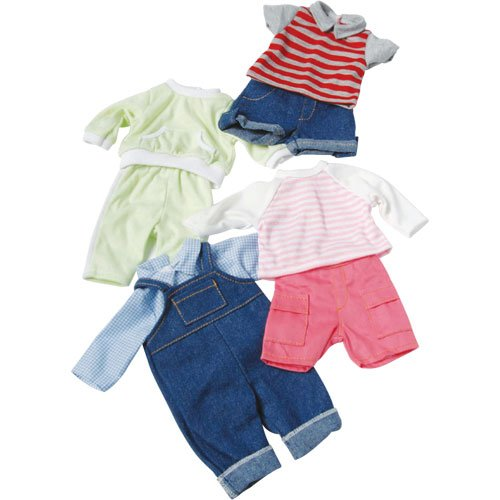 Clothing For 12″ – 14″ Baby Dolls – 4 Play Outfits, Baby & Kids Zone