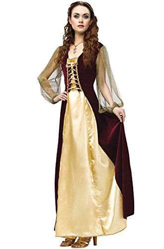 Juliet Halloween Costumes (Juliet Costume - Medium/Large - Dress Size 10-14)