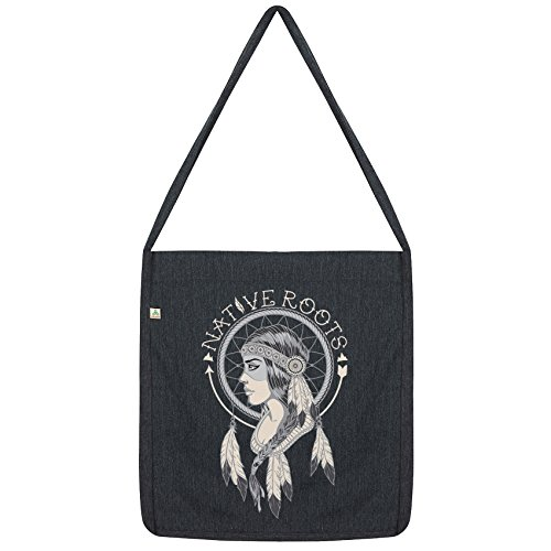 American Tote Bag Envy Roots Twisted American Indian Indian Envy Black Twisted Native Native Roots Tote w87OqA
