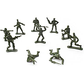 Fun Central AU196 Toy Soldiers, Various Poses, 144 Count