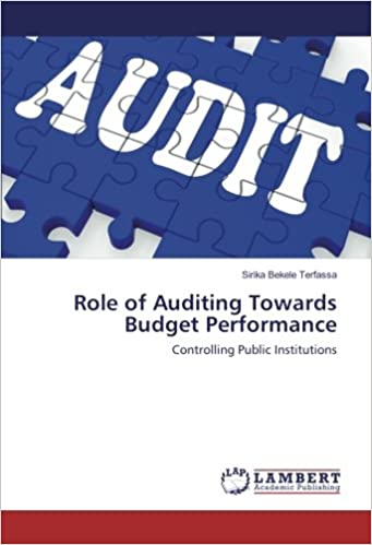 Amazon.com: Role of Auditing Towards Budget Performance ...