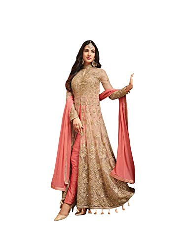 - Women's Anarkali Salwar Kameez Designer Indian Dress Ethnic Party Embroidered Gown