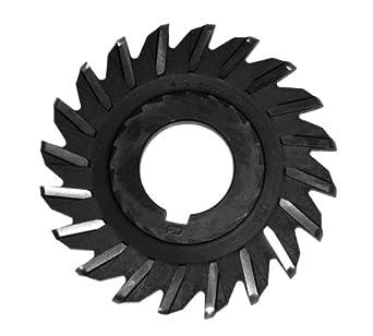 1 1//4 ID 1//4 Width F/&D Tool Company 11741 Straight Tooth Full Radius Side Milling Cutter Cobalt 3 Diameter