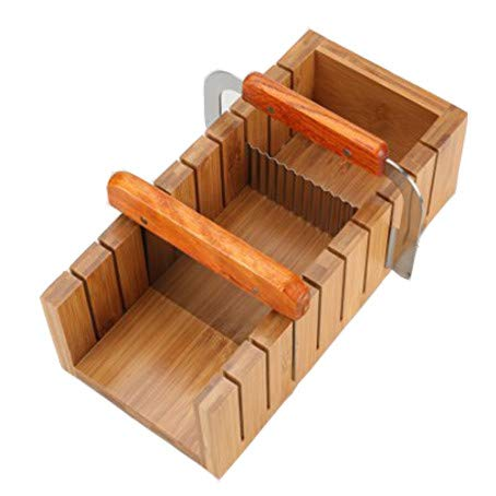 Soap Molds Cutters - Wood Soap Mold Loaf Cutter Mold with 1pcs Wavy & Straight Planer Cutting Tool Set (1 NCHES)