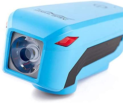 自転車光、USB 充電式 タッチ自転車  ヘッドライト/ と 5トーン  ホーン スピーカー ベル 防水 懐中電灯、 かんたん  に  インストール  マウント  サイクル 付属品