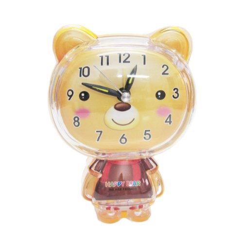 - HitHot Beautiful Decoration Table Clock in Yellow Color