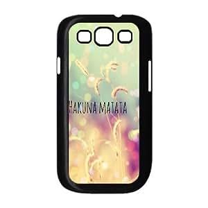 HAKUNA MATATA CUSTOM Cell Phone Case for Samsung Galaxy S3 I9300 LMc-56526 at