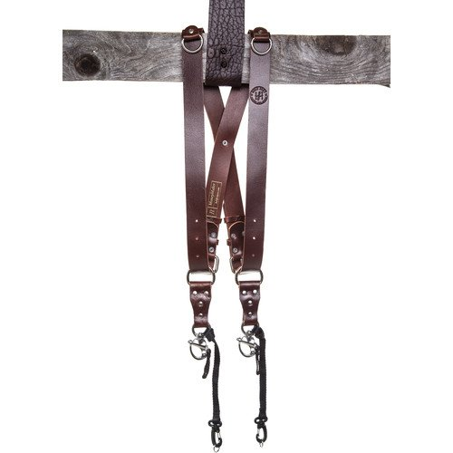 HoldFast Gear Money Maker Two-Camera Harness (Water Buffalo, Burgundy, Medium Size) … by HoldFast