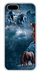 IPhone 5/5S Case Sacred Song PC Hard Plastic Case for iPhone 5/5S Whtie